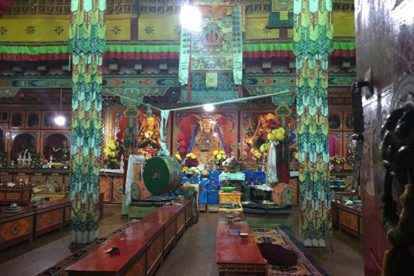 First Temple in Tibet