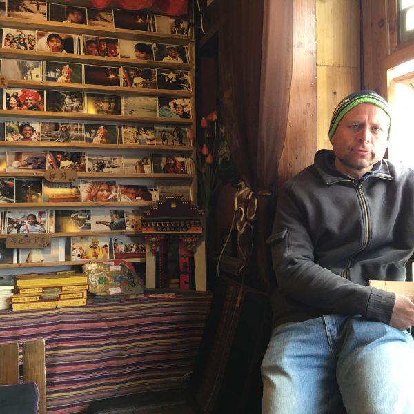 Postacard Darren Lhasa
