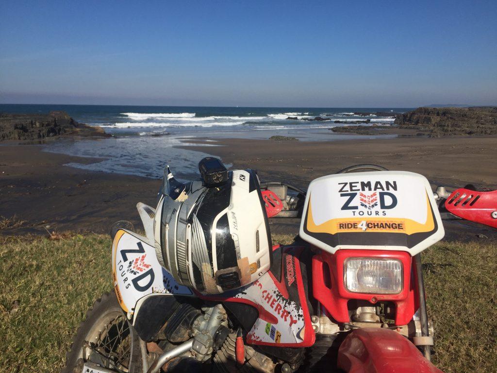 Riding the African Wild Coast
