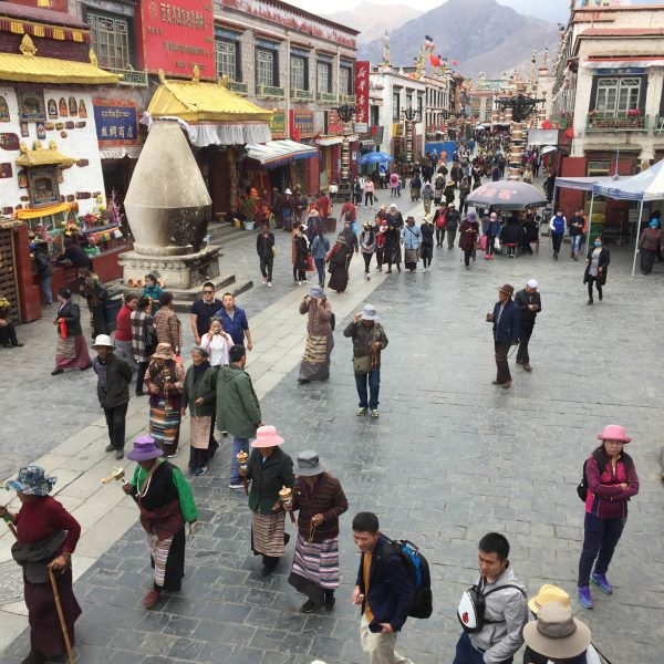 Holy Square Lhasa