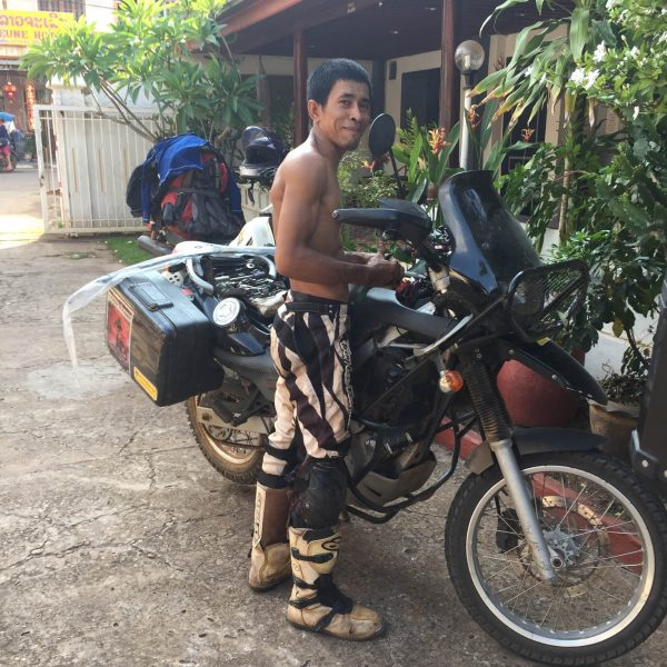 Makara fixing GS Pakse