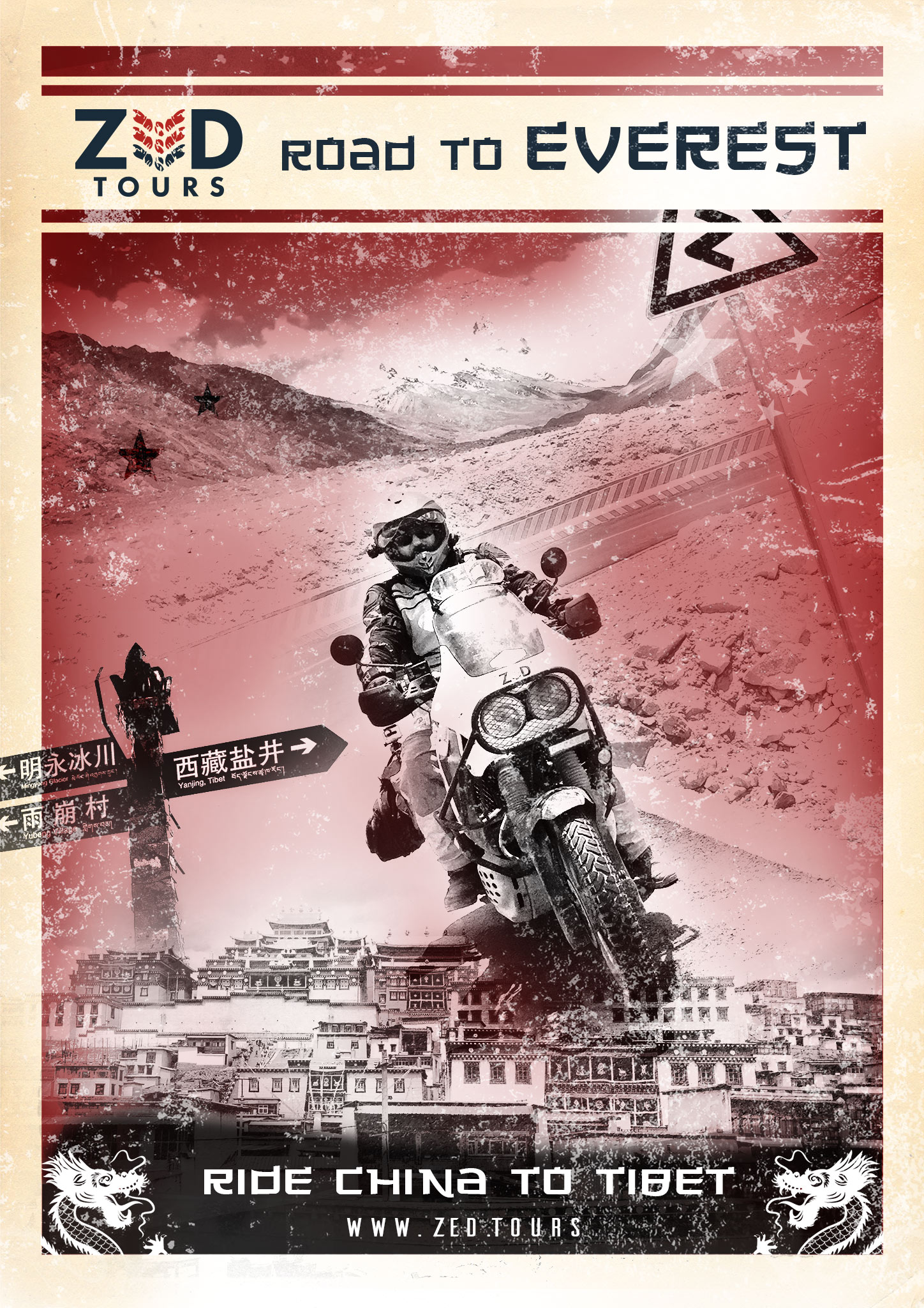 The Road to Everest - Zed Tours Motorcycle Expedition