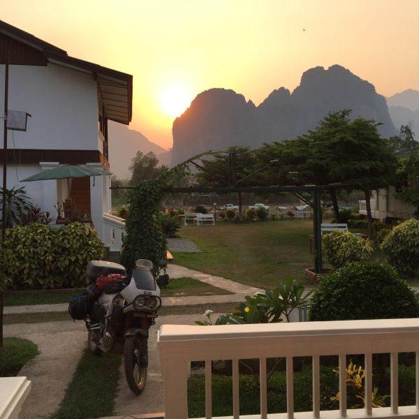 VV Sunset Laos